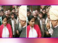 बीजेपी विधायक उदयभान चौधरी ने सरेआम एसडीएम गरिमा सिंह को धमकाया | Viral Video |