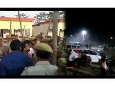 यूपी: बीजेपी कार्यकर्ताओं ने मतगणना स्थल पर किया हंगामा, पुलिस ने दौड़ादौड़ाकर पीटा