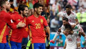 FIFA World Cup, Spain vs Iran Match Preview:Sergio Ramos Side Eyes on their First Winवनइंडिया हिंदी