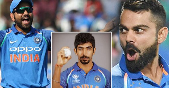 Image result for virat kohli rohit and bumrah in ipl
