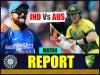 India vs Australia 3rd ODI Results: भारत ने कंगारुओं को 5 विकेट से हराया, सीरीज पर 3-0 से कब्जा
