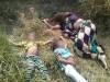 दो मासूमों को लेकर नदी में कूदी मां खुद तैरकर बाहर निकल आई, बच्चों की मौत