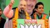 भाजपा अध्यक्ष अमित शाह ने नोएडा में की रैली, लोगों से दो-तिहाई बहुमत से विजयी बनाने की अपील