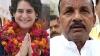 भाजपा जिलाध्यक्ष ने प्रियंका गांधी की तारीफ कर दी, देखिए वीडियो