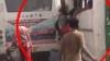 मुजफ्फरपुरः चलती बस से अचानक एक-एक कर गिरने लगे मजदूर, देखें वीडियो