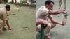 थाने में निकले सांप को दरोगा ने ऐसे किया काबू, वीडियो वायरल