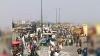हरियाणा: फरीदाबाद-दिल्ली बॉर्डर पर प्रदर्शनकारियों की पुलिस से भिड़ंत, लाठीचार्ज