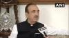 'भाजपा सरकार की वजह से घाटी में आतंकवाद फिर से जिंदा हो गया'