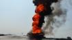 पश्चिम बंगाल: हादसे का शिकार हुए तेल टैंकर में लगी भीषण आग, दमकल की 4 गाड़ियों ने पाया काबू