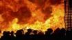 मुंबई: कालबादेवी इलाके में एक कपड़ा गोदाम में लगी भीषण आग