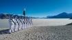 Republic Day 2021: लद्दाख में ITBP जवानों ने पैंगांग त्सो झील के किनारे फहराया तिरंगा