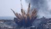 इजराइल ने गाजा पट्टी पर फिर से शुरू किए हवाई हमले
