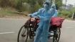 बिहार: युवक की कोरोना से मौत, अंतिम संस्कार के लिए नगर निगम के ठेले पर ले जाया गया शव