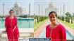 Saina Nehwal पहुंचीं आगरा, पति संग किया Taj का दीदार, गाइड से पूछी ये बातें