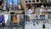 International Yoga Day 2021:न्यूयॉर्क में शानदार ढंग से मना योगा डे,टाइम्स स्क्वायर में 3000 लोगों ने किया योग