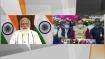 प्रधानमंत्री गरीब कल्याण अन्न योजना के लाभार्थियों से वीडियो कॉन्फ्रेंस में बात-चीत कर रहे PM मोदी
