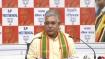 बंगाल बीजेपी चीफ के पद से हटाए गए दिलीप घोष को पार्टी ने दी यह बड़ी जिम्मेदारी