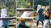 VIDEO: ट्रेन के सामने जान देने जा रहा थी लड़की, तभी मसीहा बनकर आया ऑटो ड्राइवर