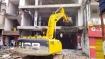 मुख्तार के करीबी उमेश सिंह का 10 करोड़ का शॉपिंग मॉल किया ध्वस्त, मऊ प्रशासन ने चलाया बुलडोजर