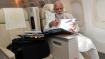 अमेरिका पहुंचने तक फ्लाइट में काम कर रहे थे पीएम मोदी, कहा-'लंबी उड़ान का मतलब फाइलें-पेपर वर्क...'