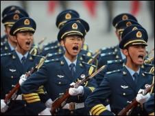 Image result for चीन की बढ़ती सैन्य ताकत से चिंतित है अमेरिका