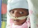 नवजात बच्ची की जान बचाने के लिए पिता को है पैसों की जरूरत