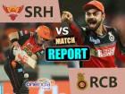 RCBvsSRH: बारिश ने फेरा आरसीबी की उम्मीदों पर पानी, मैच रद्द