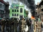 तस्वीरों में देखें हिंसा के दौरान हैदराबाद का हाल
