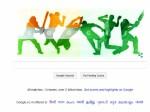 गूगल भी इंडिया-पाकिस्तान मैच के रंग में रंगा