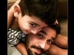 टेस्ट मैच के बाद अपने बेटे संग बिजी हैं मुरली विजय, इंस्टाग्राम पर शेयर की PHOTO
