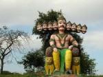 यूपी: अज्ञात लोगों ने बोला रावण के मंदिर पर हमला, मूर्तियां तोड़ीं