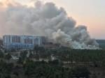 बेंगुलरु: झील में लगी आग, वैज्ञानिकों ने बताई ये वजह