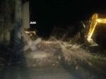 भोपाल में पुलिस ट्रेनिंग सेंटर की निर्माणाधीन बिल्डिंग गिरी,  1 मजदूर की मौत 15 घायल