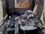 यूपी हाथरस में मीट की दुकानों में अज्ञात लोगों ने लगाई आग, मामला दर्ज