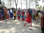 बहराइच: अमेरिकी छात्राओं ने खेली कबड्डी, भारतीय सभ्यता और संस्कृति पर करने आई हैं रिसर्च