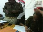 VIDEO: लखनऊ की 'लेडी सिंघम' मंजिल सैनी के ऑफिस में बॉडी मसाज करवाते पुलिसकर्मी