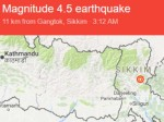लोग सो रहे थे तभी हिली धरती, सिक्किम में आए भूकंप के झटके