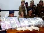ढाई करोड़ की स्मैक और लाखों रुपयों के साथ पकड़े गए चार तस्कर