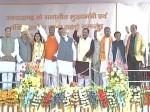 त्रिवेंद्र सिंह रावत ने ली उत्तराखंड के मुख्यमंत्री पद की शपथ, 9 विधायक भी बने मंत्री