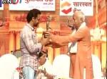 आमिर खान को मोहन भागवत के हाथ से मिला दीनानाथ मंगेशकर पुरस्कार