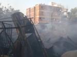 पुणे के टिंबर मार्केट में भीषण आग से 40 घर जलकर खाक