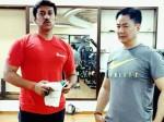 #FitnessGoals मोदी के मंत्री जिम में एक्सरसाइज करते नजर आए, कहा- ड्रग्स से दूर रहें