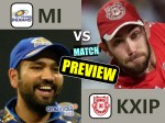 IPL Match Preview: आज रोहित के वीरों से भिड़ेंगे प्रीति के पंजाबी शेर