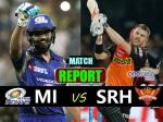 Ipl Match Report- मुंबई इंडियंस ने हैदराबाद को 4 विकेट से हराया