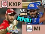 KXIPvMI Live: मुंबई ने पंजाब को 8 विकेट से हराया