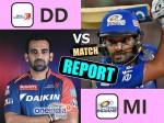 MIvDD: रोमांचक मुकाबले में मुंबई ने दिल्ली को 14 रनों स हराया