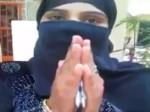 ट्रिपल तलाक पर मोदी और योगी की तारीफ करने वाली मुस्लिम युवती ने बदला बयान, मांगी माफी