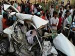 मिर्जापुर: विभूति एक्सप्रेस ने कार को मारी टक्कर, एक ही परिवार के 5 लोगों की मौत