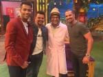 'द कपिल शर्मा' शो में पहुंची टीम इंडिया की तिकड़ी, खूब लगाए ठहाके