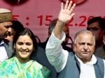 ससुर के समर्थन में छोटी बहू ने बुलंद की आवाज, कहा- सपा का अध्यक्ष पद छोड़ें अखिलेश